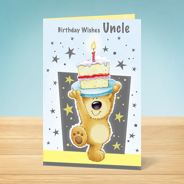 Birthday Card Birthday Wishes Uncle Garlanna Greeting Cards