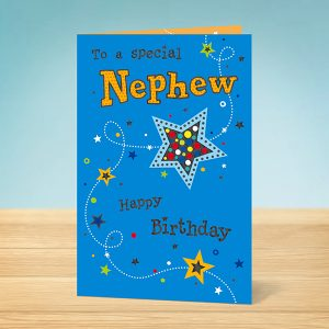 Birthday star Nephew