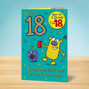 Funny 18th Birthday Card
