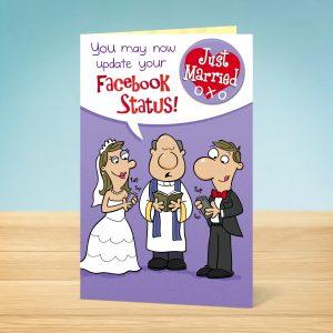 Facebook Status Wedding