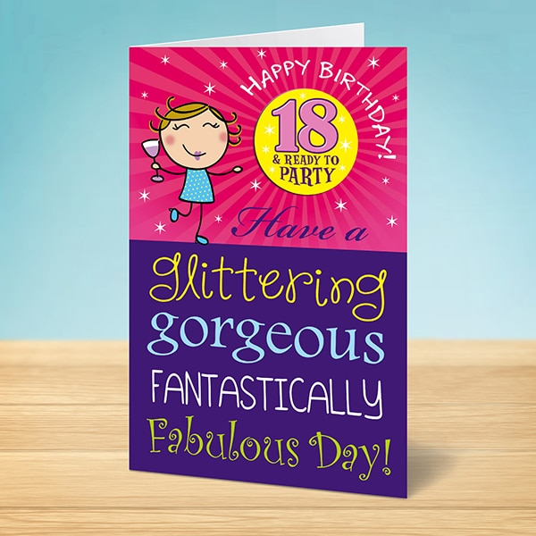 Funny birthday cards ireland humerous entertaining 18th birthday card reheart Images