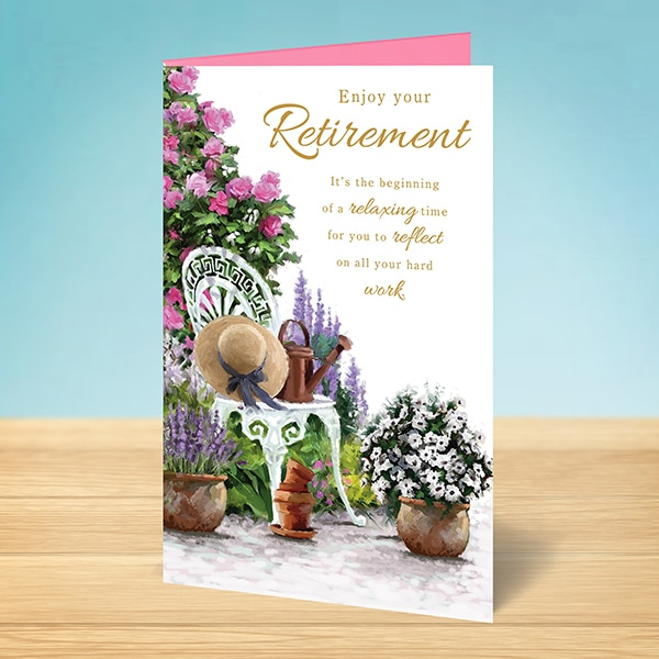 Enjoy your Retirement, Garden