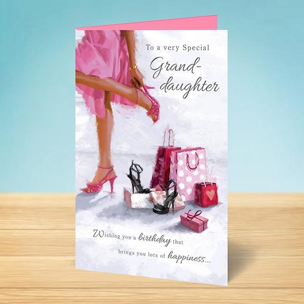 Special Granddaughter Birthday Card