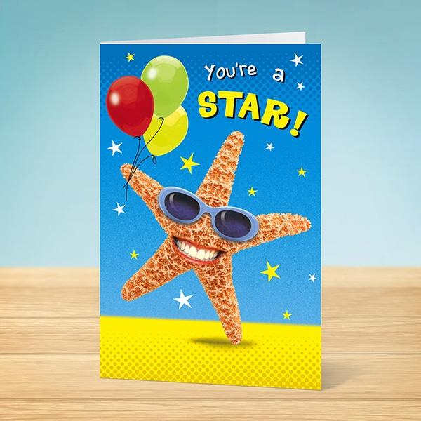 smiley Starfish