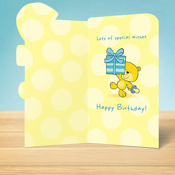 Birthday Card 2nd Boy