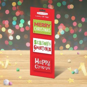 christmas tags text greetings