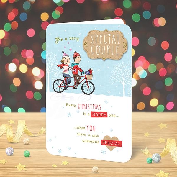 Christmas Card Couple