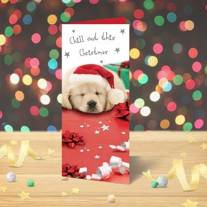 Christmas Card Puppy