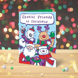 Special Friends Christmas card