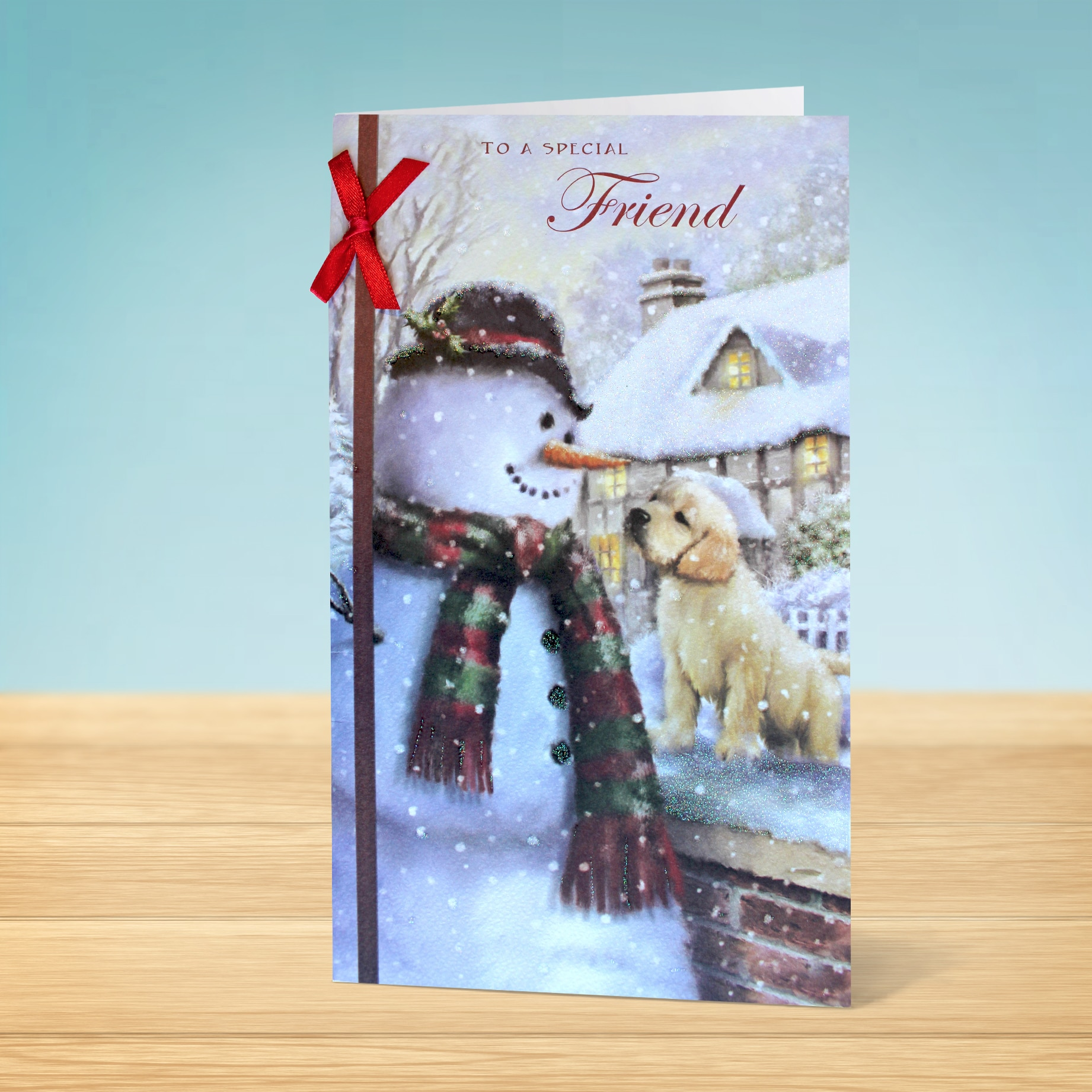 Christmas Card To A Special Friend