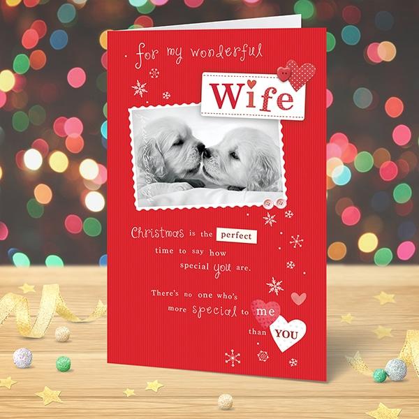 Christmas Card For My Wonderful Wife