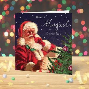 Christmas Card Santa Claus