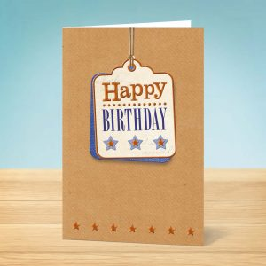 Birthday Card Tag