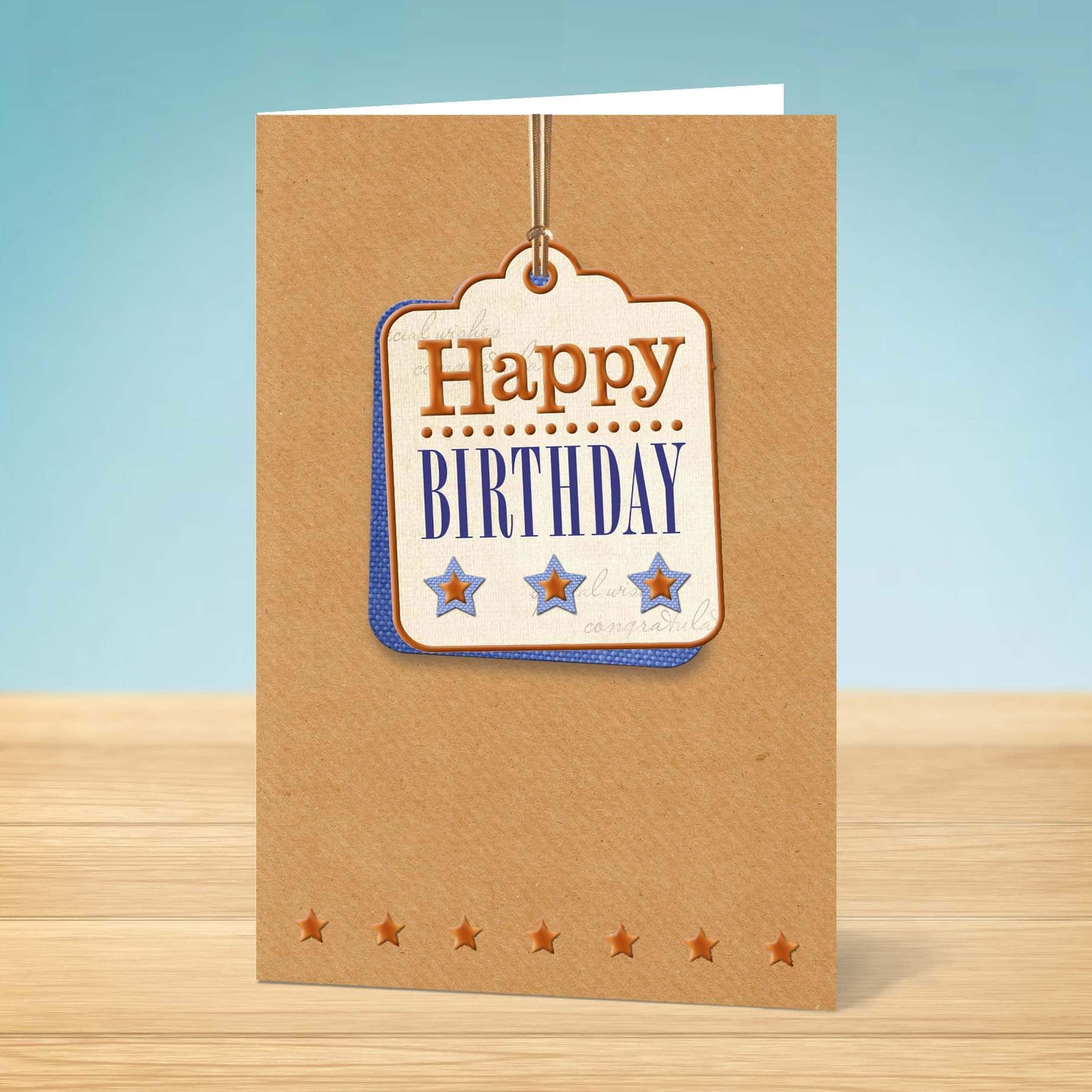 Birthday Card Tag