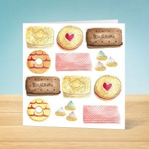 Biscuits Blank Card Front