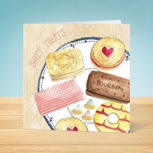 Sweet Treats Blank Card Front