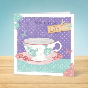 Lots of Love Blank Card Front