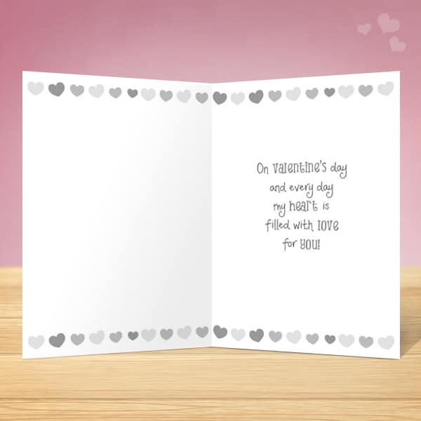 Espresso Valentine's Card - Garlanna Greeting Cards