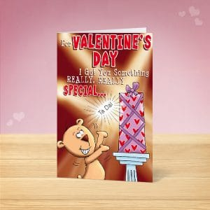 Something really Special Valentine's Card Front