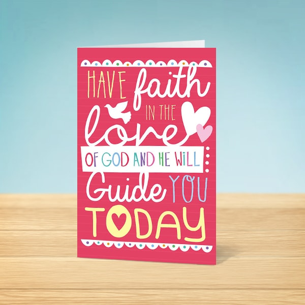 Faith Confirmation Card Front