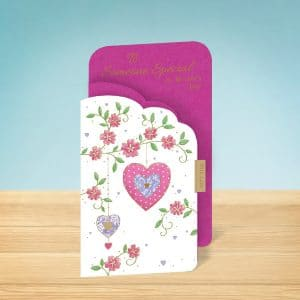 tri-fold Mothers Day card Front