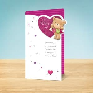 love bear Mothers Day card front