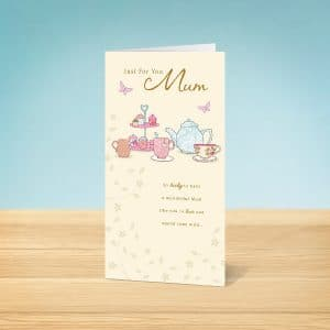 Tea Mother's Day Card Front
