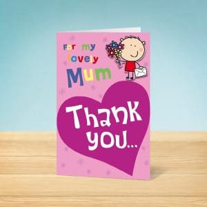 Heart Mother's Day Card Front