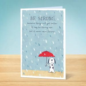 greeting card be strong
