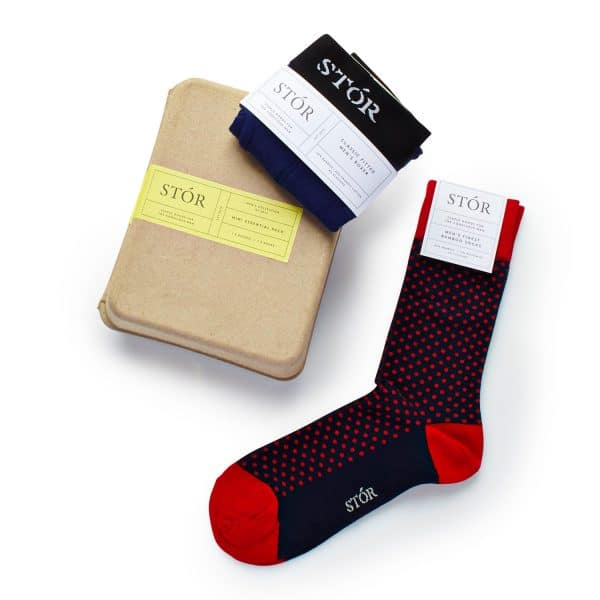 Socks and boxers red pack
