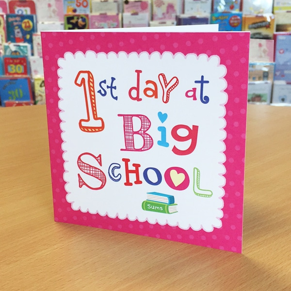 first day at school Whether your child is proudly entering kindergarten or a seasoned school vet with a couple of years under her tiny belt, celebrate the first day school by adding one of these fun traditions to her .