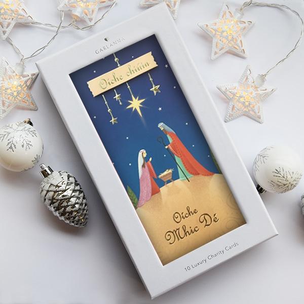 Religious Irish charity christmas card