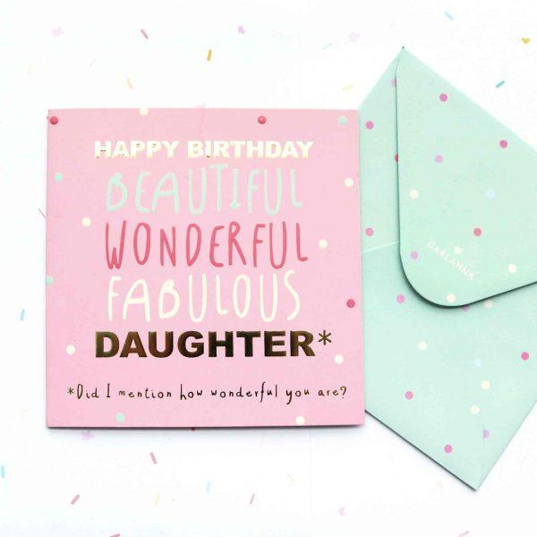 G2144 Daughter Birthday Card