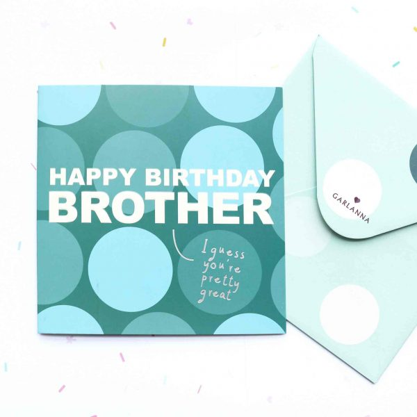 Little Moments Brother Birthday Card Garlanna Greeting Cards