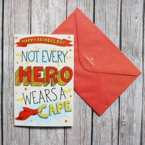 hero father's day card