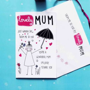 Lovely mum birthday card