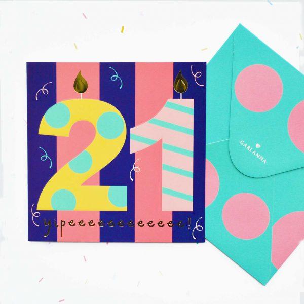 Little moments 21st birthday card garlanna greeting cards 21st birthday card 21st birthday card bookmarktalkfo Choice Image