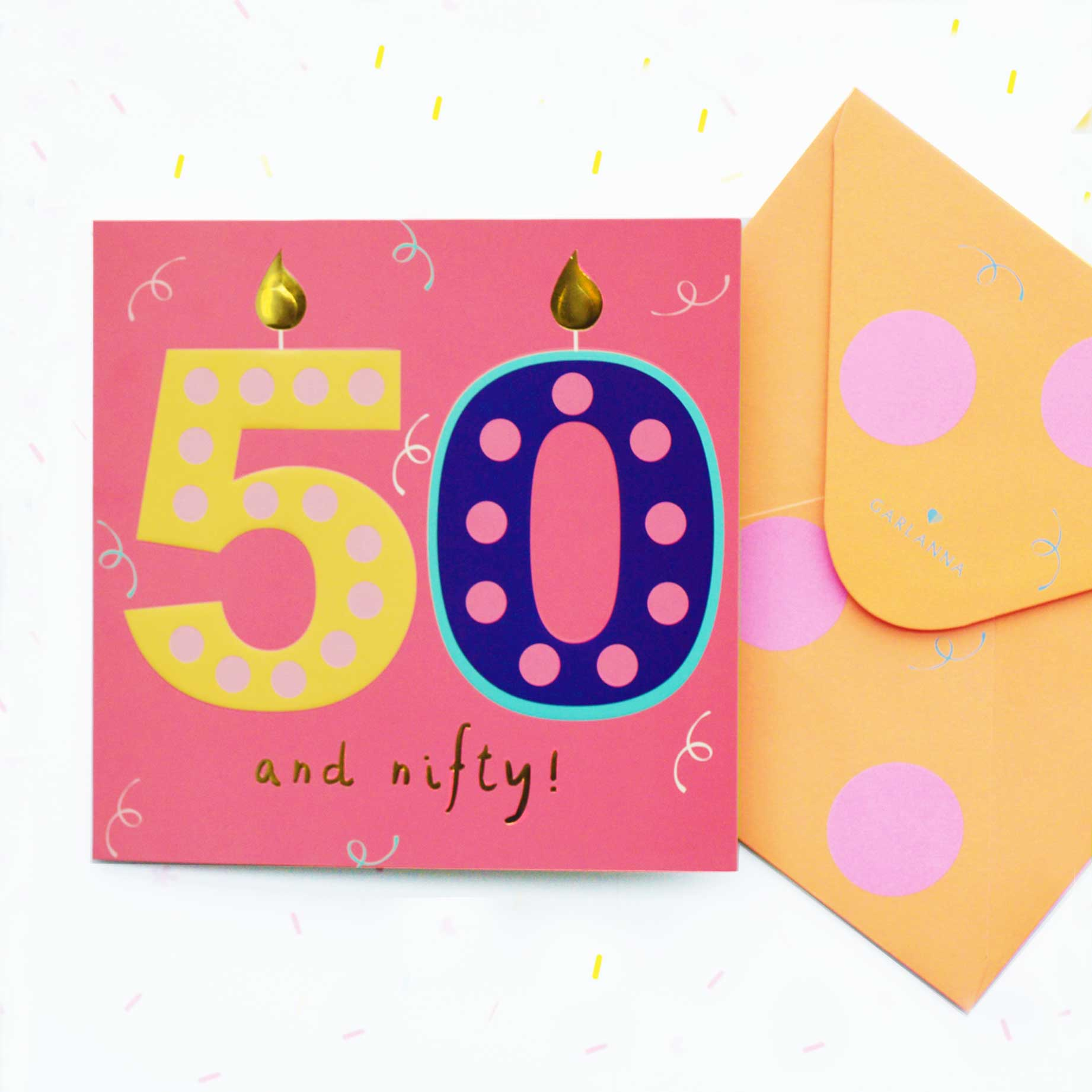 Little Moments 50th Birthday Card