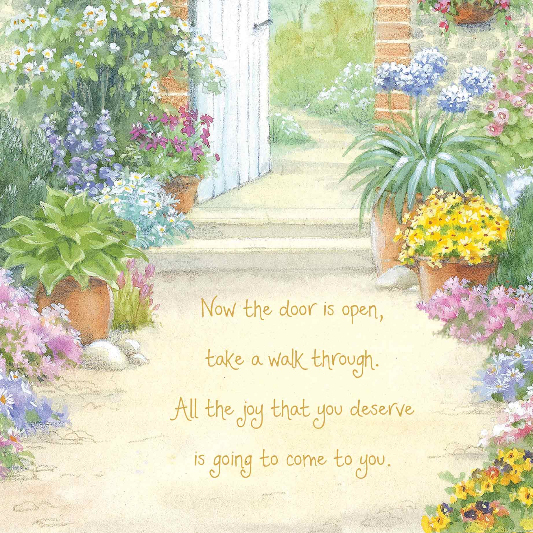 words of warmth retirement card  garlanna greeting cards
