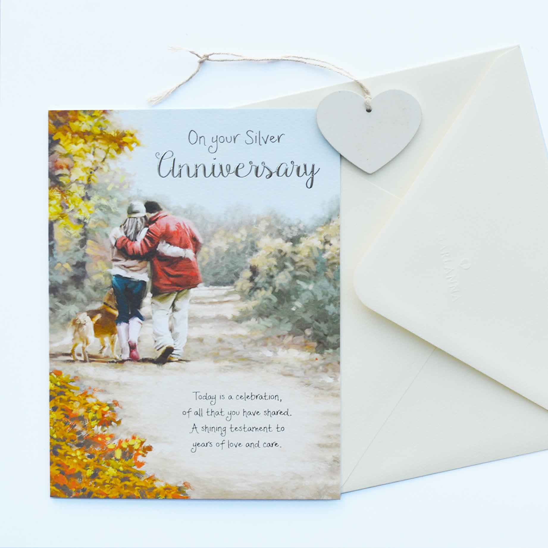 Anniversary Card Wife Anniversary Garlanna Greeting Cards