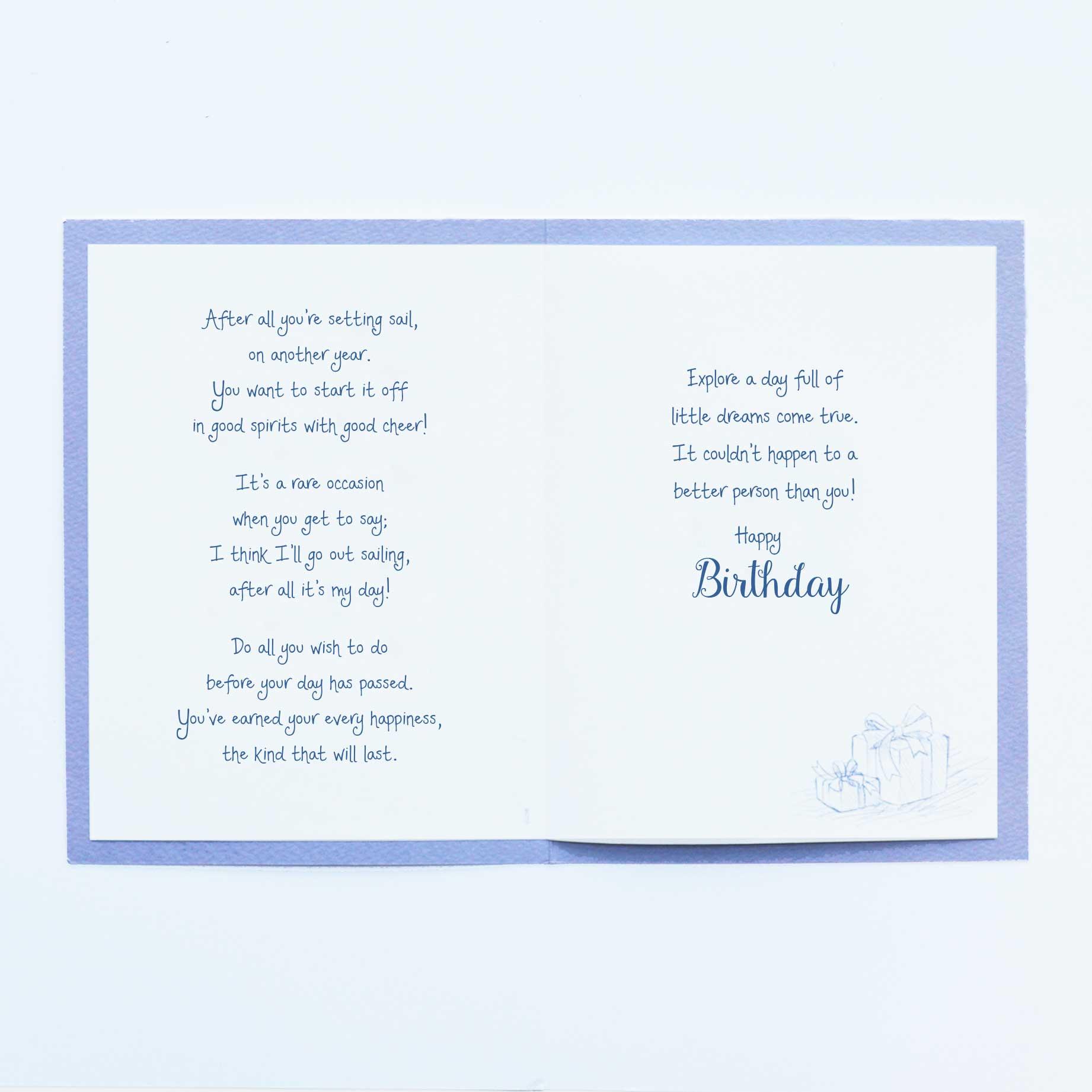 G2296 birthday card garlanna greeting cards birthday card insert m4hsunfo