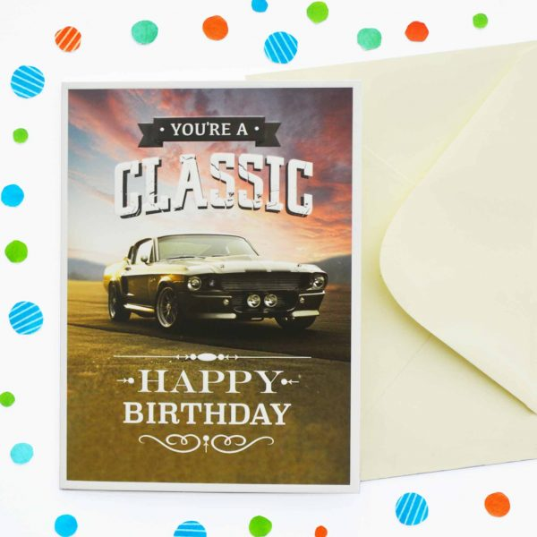 Just To Say Classic Birthday Card