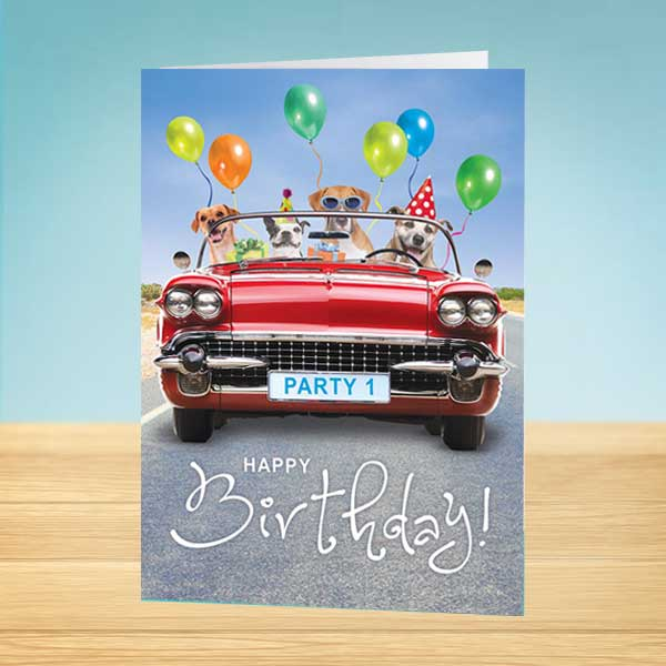 Funky Special Happy Birthday Card