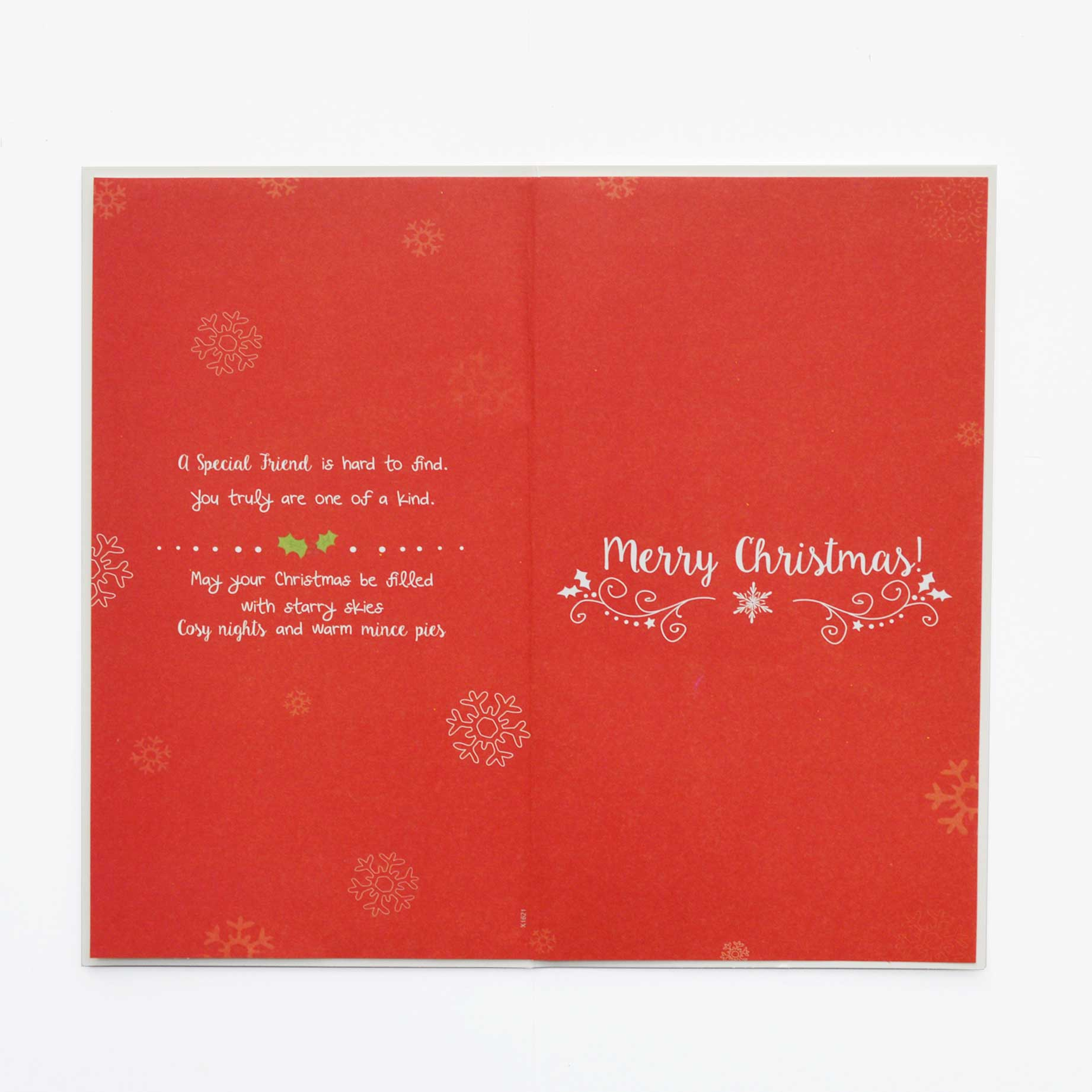 Christmas Card A Special Friend Garlanna Greeting Cards