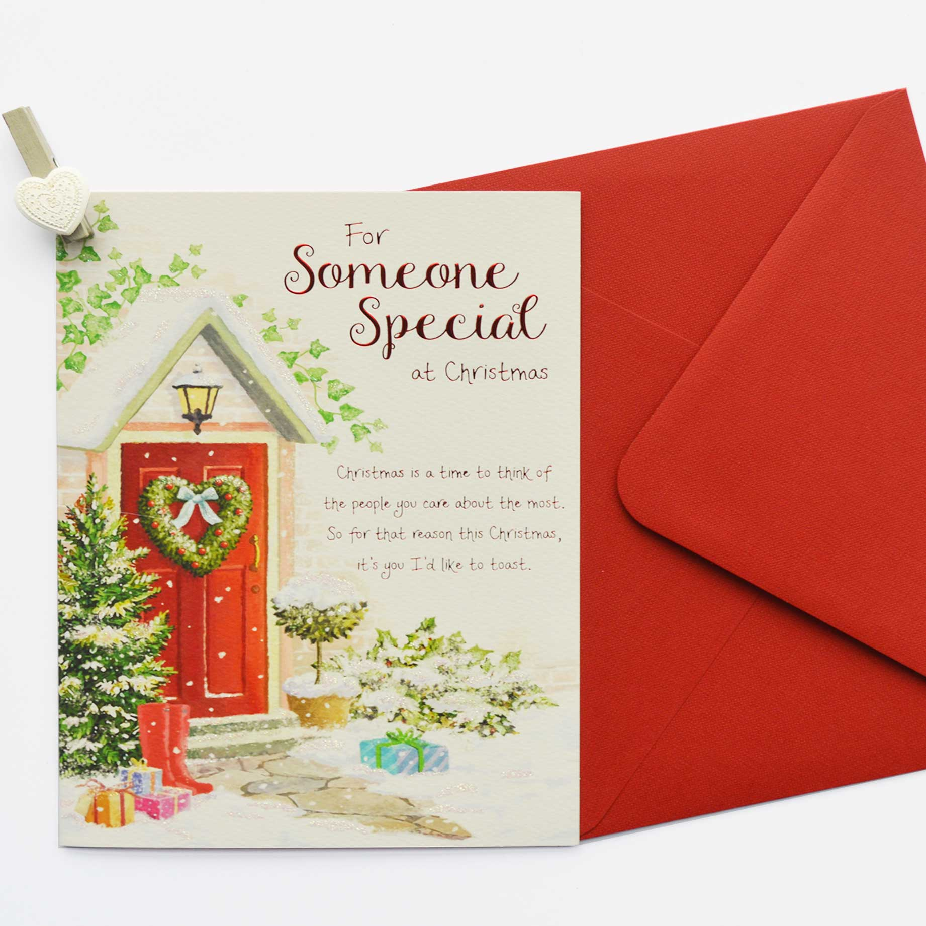 X1715 Somone Special Garlanna Greeting Cards