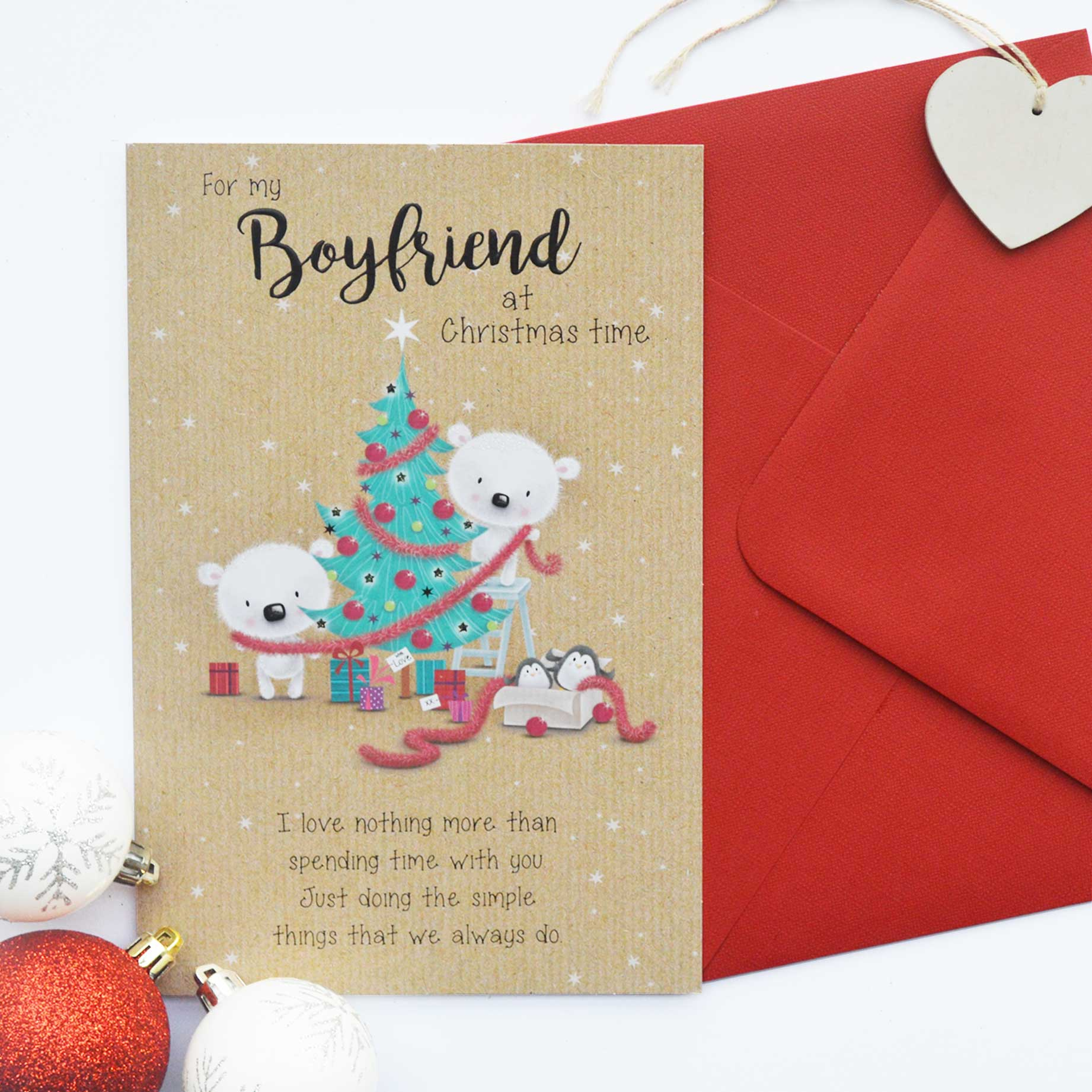 boyfriend christmas card - Boyfriend Christmas Card