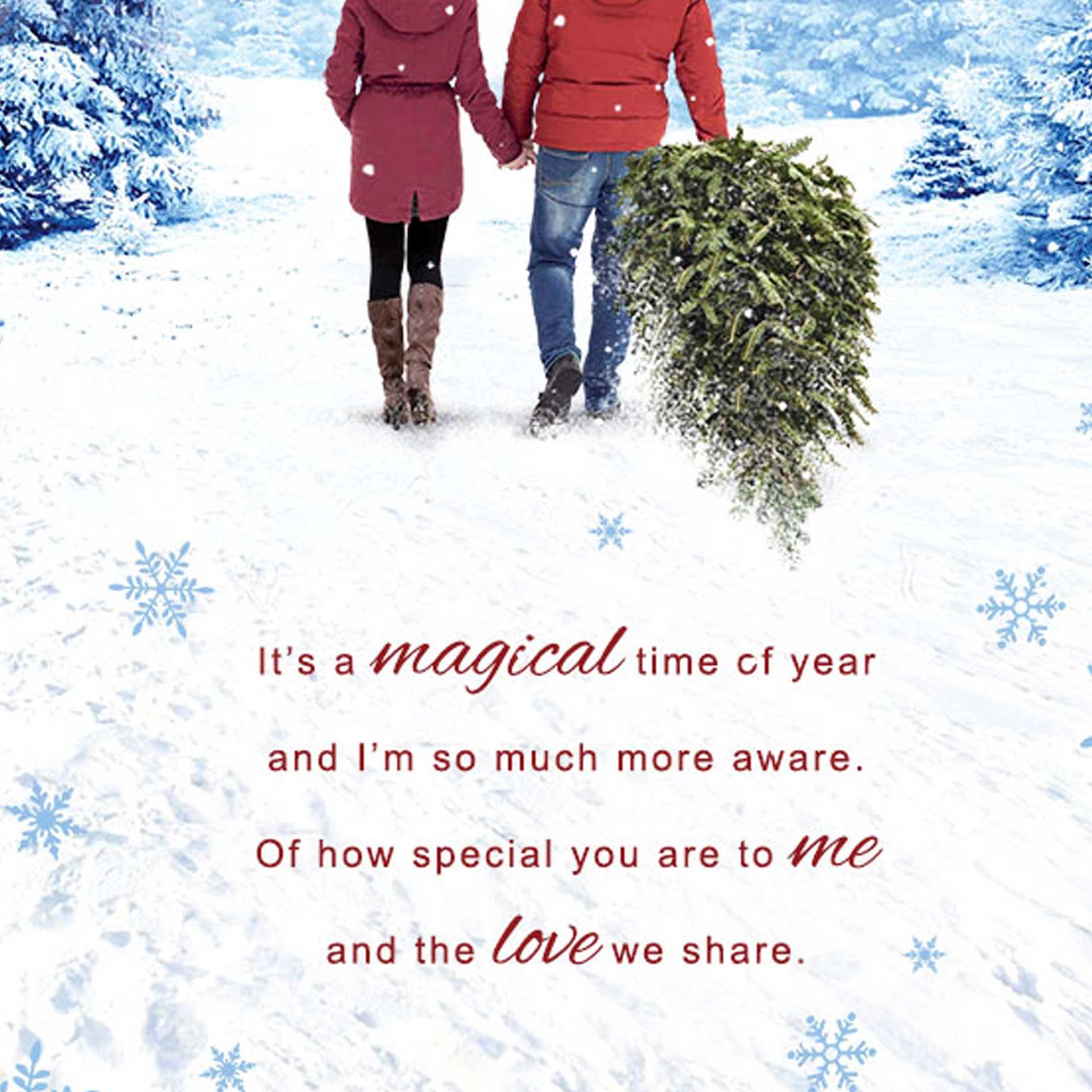 Christmas Card Husband Garlanna Greeting Cards