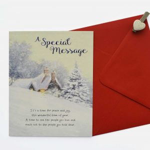 special message christmas card