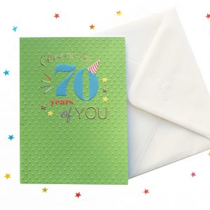 70th birthday