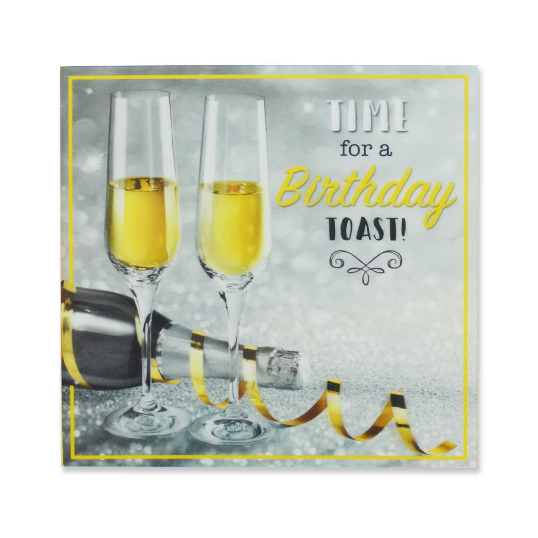 a splash of colour 3d cards birthday toast  garlanna